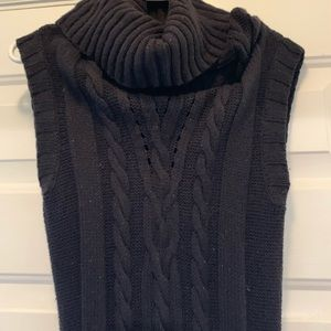 Express Cable Knit Sweater Dress